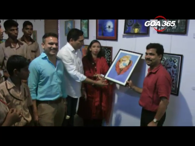 It's a royal treat to watch Art exhibition of Sanjay School students!
