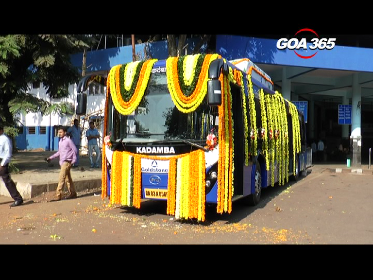 Kadamba electric bus launched on trial  run