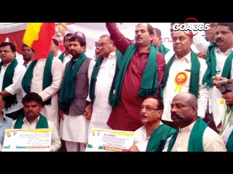 Karnataka farmers to lay siege in Delhi over Mhadei