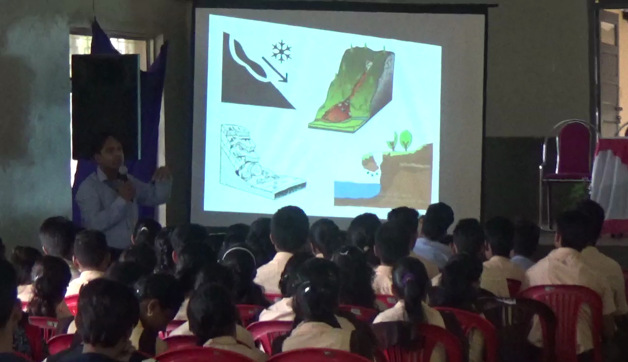 Landslide awareness programme held in Vasco for students