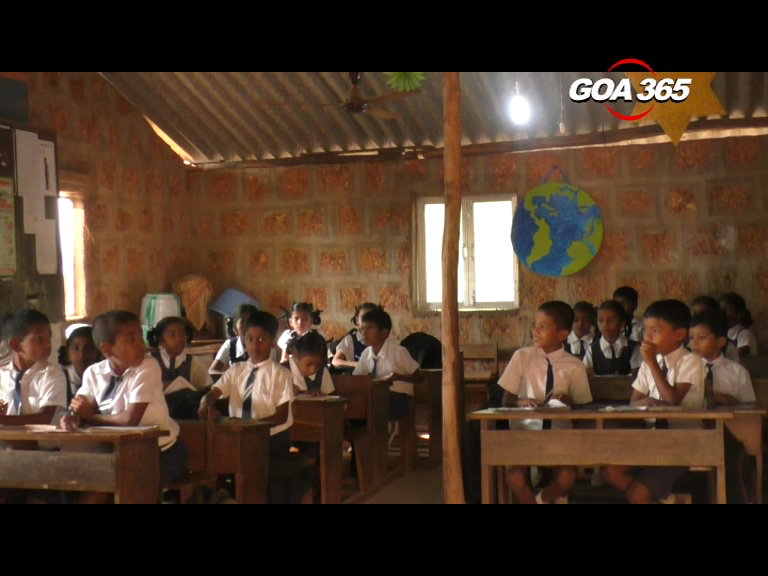 Lives of 82 students at risk in a dilapidated Morpirla school