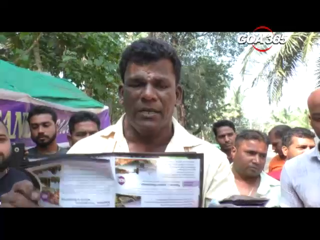 Local taxi operators from Morjim up in arms against illegal private operators