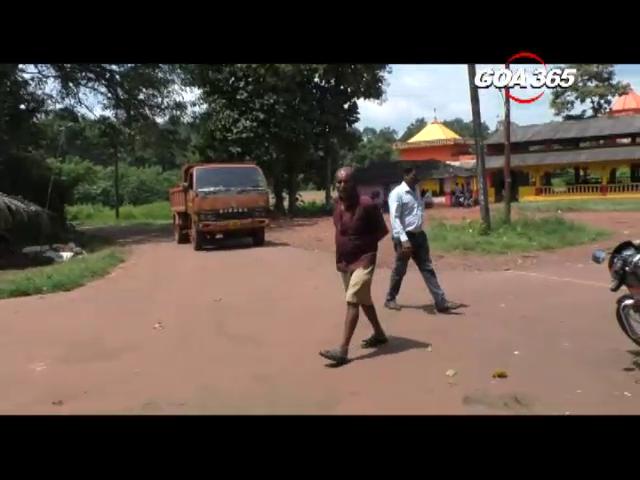 Locals of Kudchire demand speed breakers on village junction