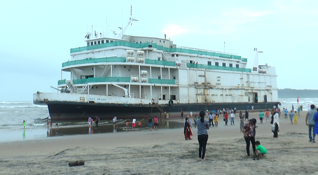 Lucky Seven still at Miramar, CM says 'the vessel is damaged'