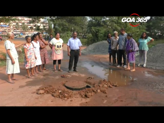 Maddel residents protest against overflowing sewage