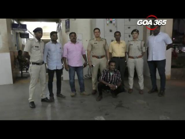 Madgaon: 114 gm of Ganja seized