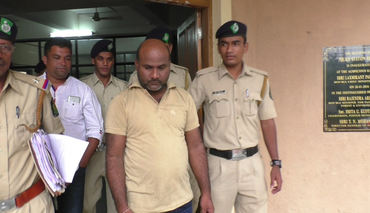 Mandrem ATM robbery accused remanded to 5-day police custody