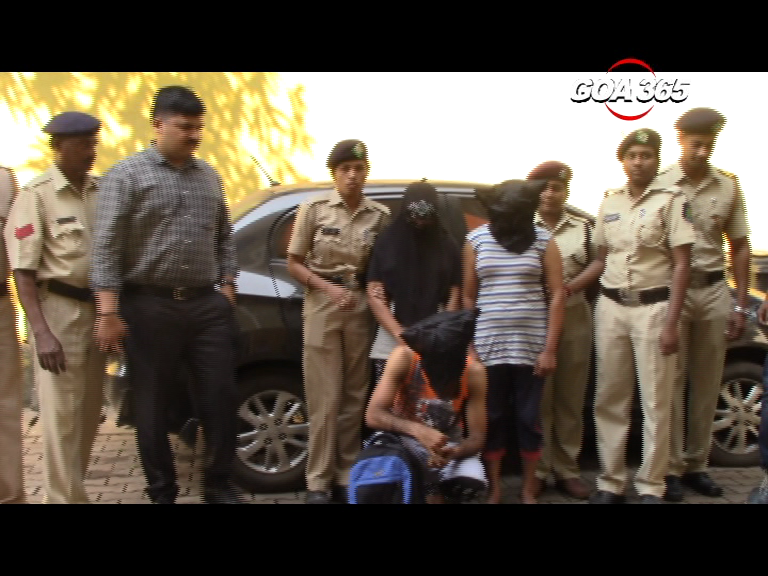 Mapusa police arrest trio for snatching chain; burglary reported in Vasco