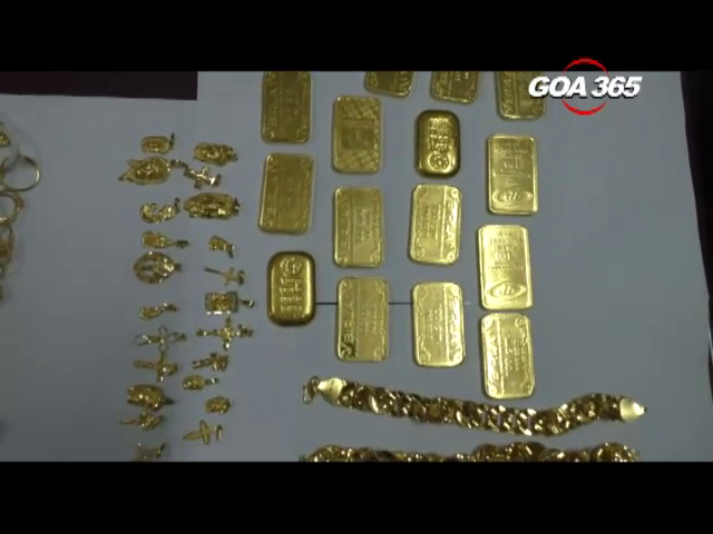 Margao Police recover gold worth 53 lakh rupees