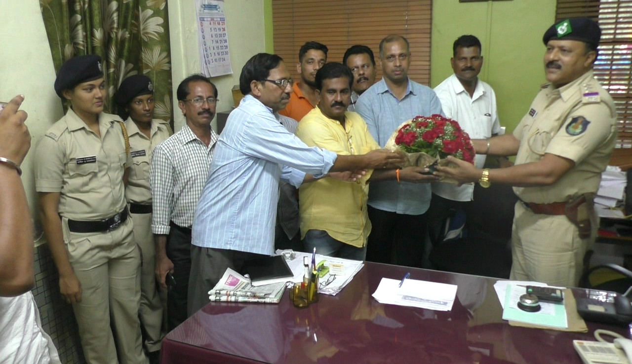 Margao Police thanked by Villagers