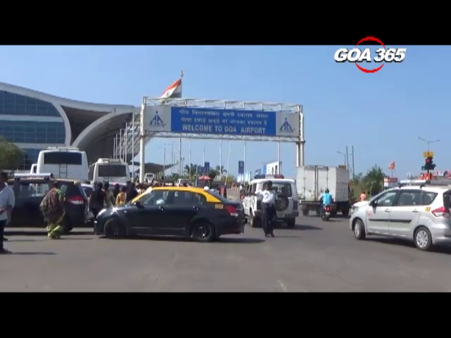 Mauvin asks to shut down new taxi counter at  Dabolim airport