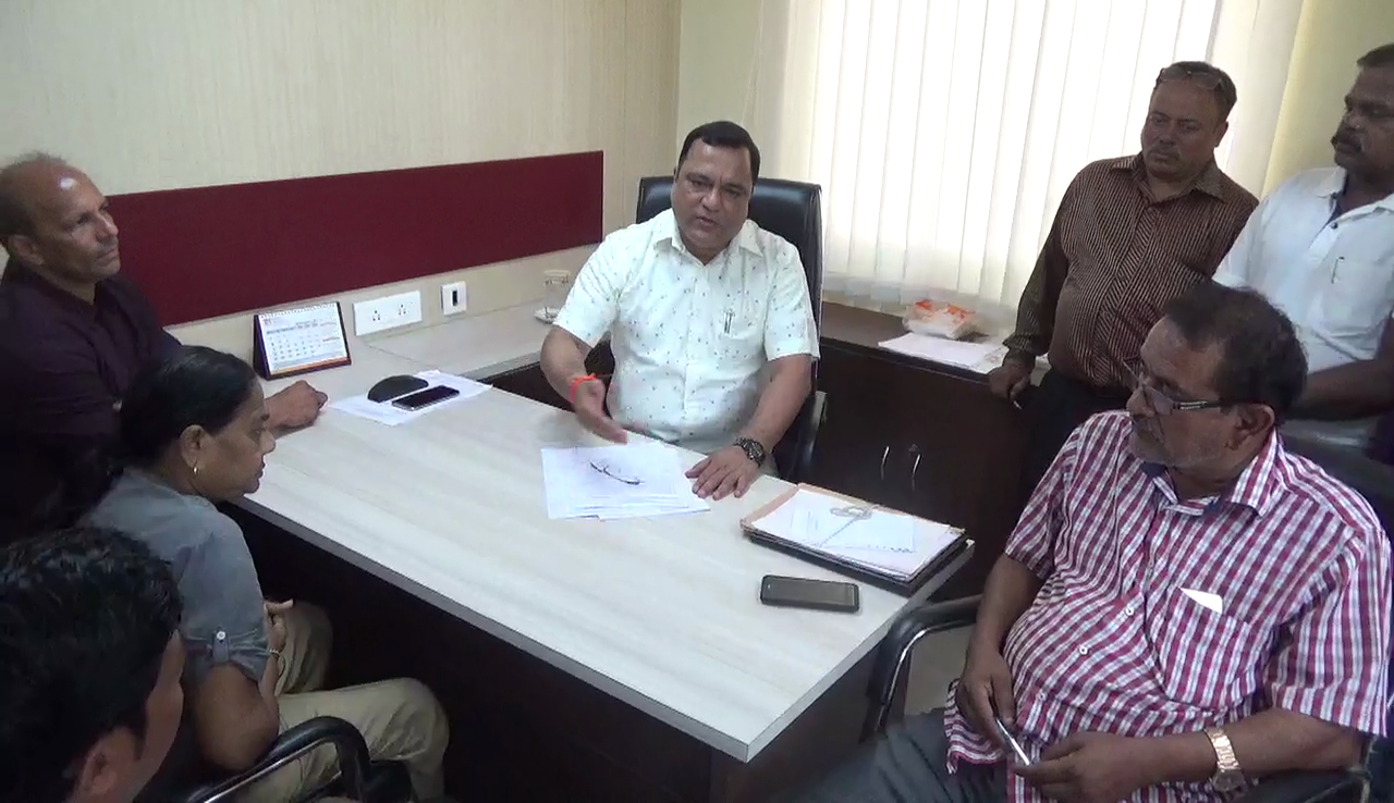 Mauvin pitches for revenue for Panchayat through industrial units in Murgao Ind Estate