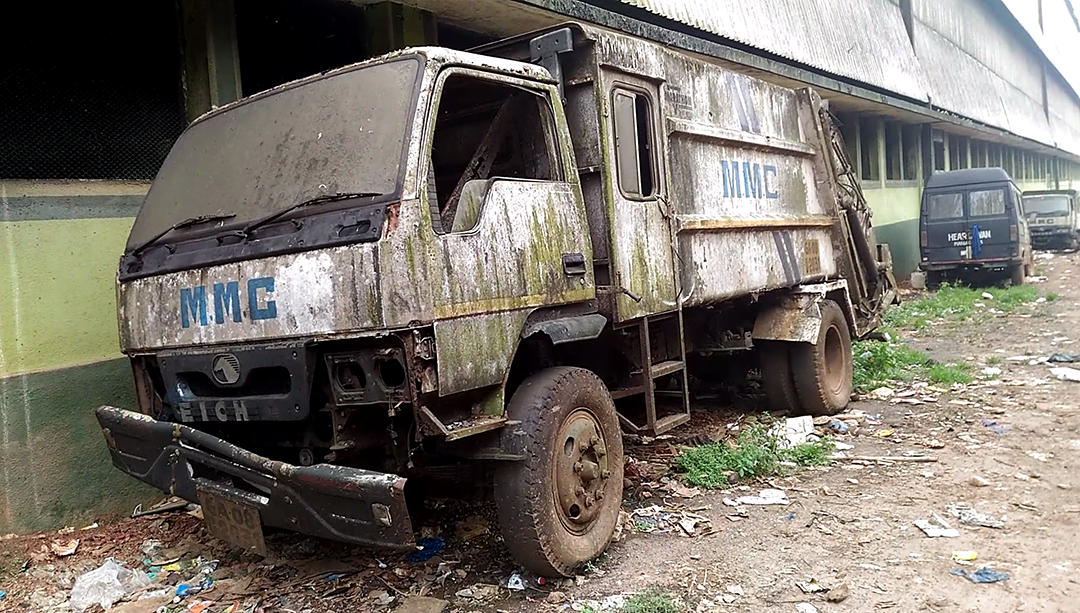 Madgao municipality to dispose condemned vehicles