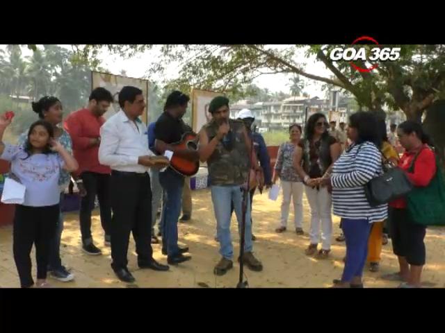 Musical protest against netas over Mhadei