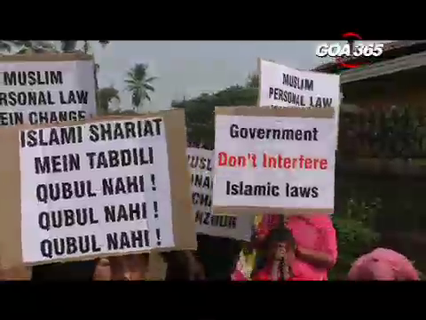 Muslim Morcha in South Goa