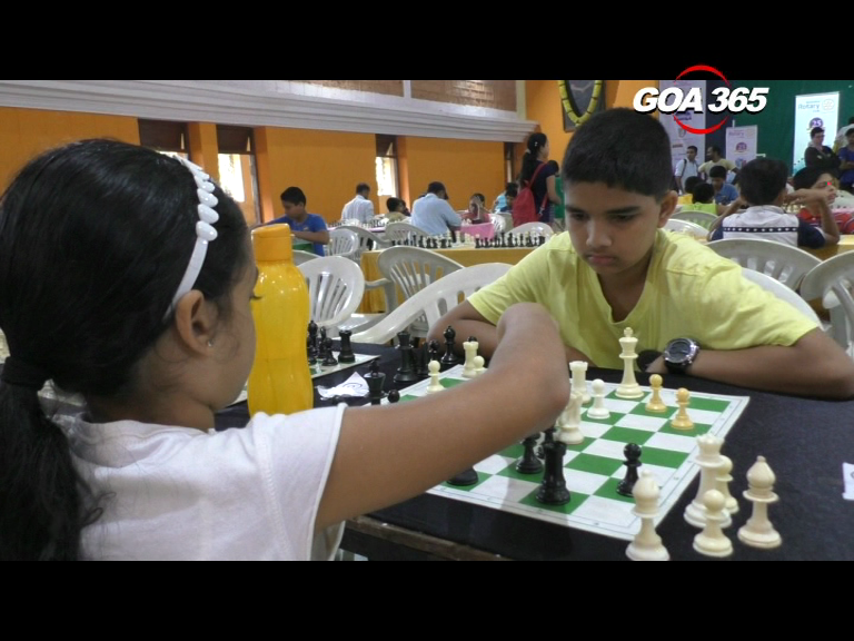 Niraj Saripalli wins in Bicholim chess tournament