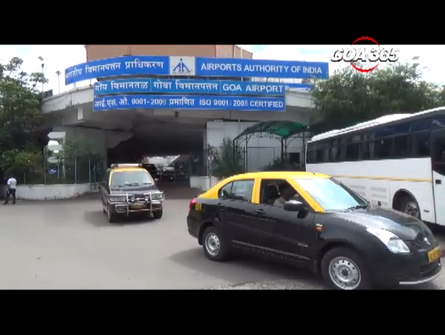No more air traffic- 3.7 km parallel taxi-track at Dabolim airport.