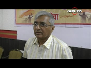 Official announcement of MGP-GSM-SS-GPP alliance on 10 Jan: Velingkar