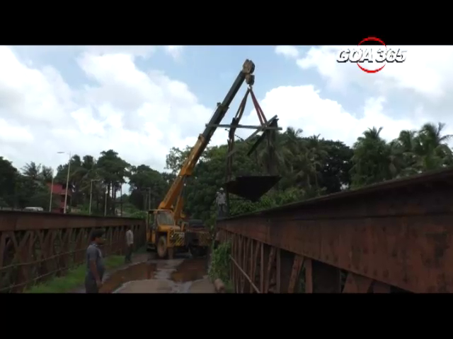 Old footbridge of Sanvordem finally dismantled