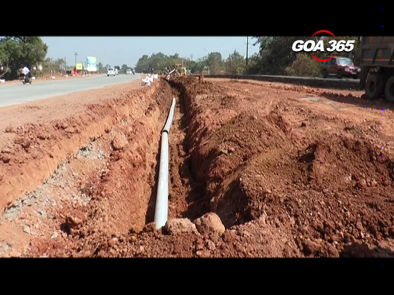 Pale-Siridona locals suffer as road work damages water pipeline