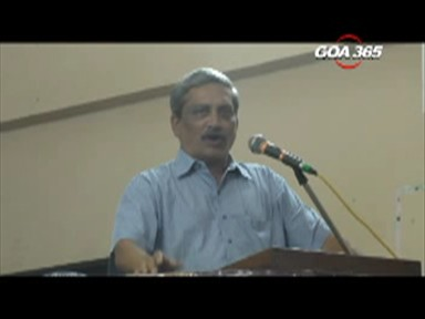 Panaji? Or Curchorem? Decision on 9th: Parrikar