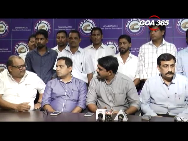 Panchwadi sarpanch joins Goa Forward with his supporters