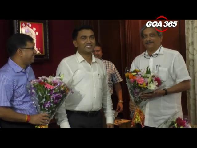 Parrikar & Vishwajeet take oath as MLAs, MP resigns as MP
