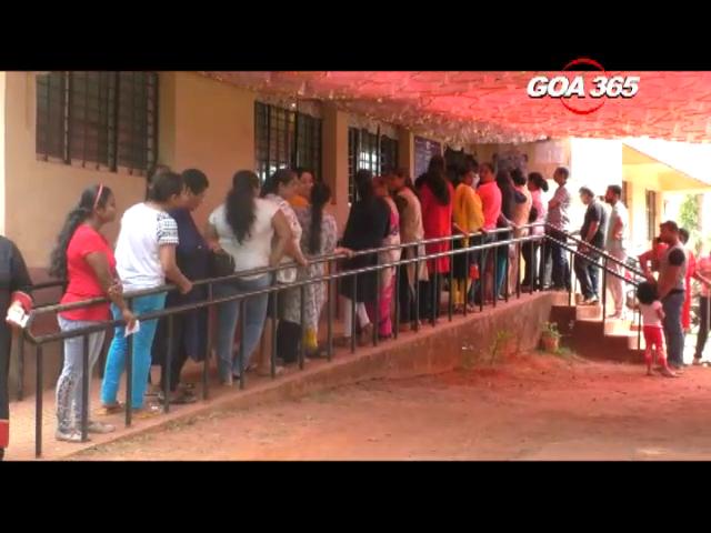 Ponda casts vote for Municipal poll, voter turnout 76.43%