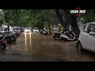 Pre-monsoon rain hits very hard in Goa, paralyses life partially