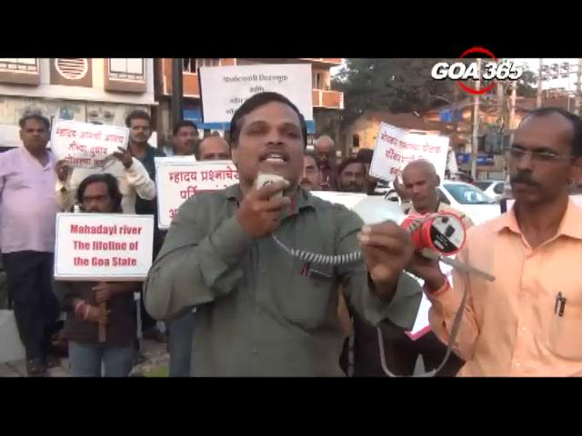 Protests on Mhadei gain momentum