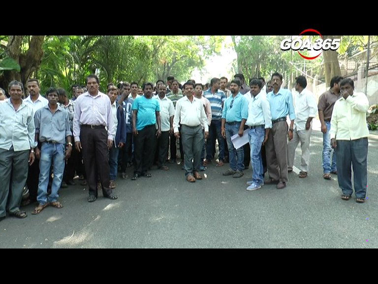 PWD workers hold strike demanding regularization