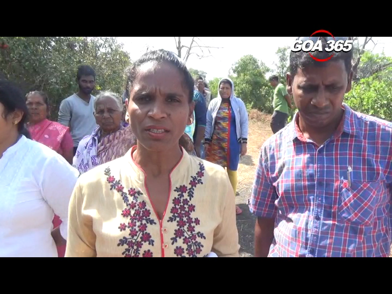 Quelossim villagers upset with mobile tower installation