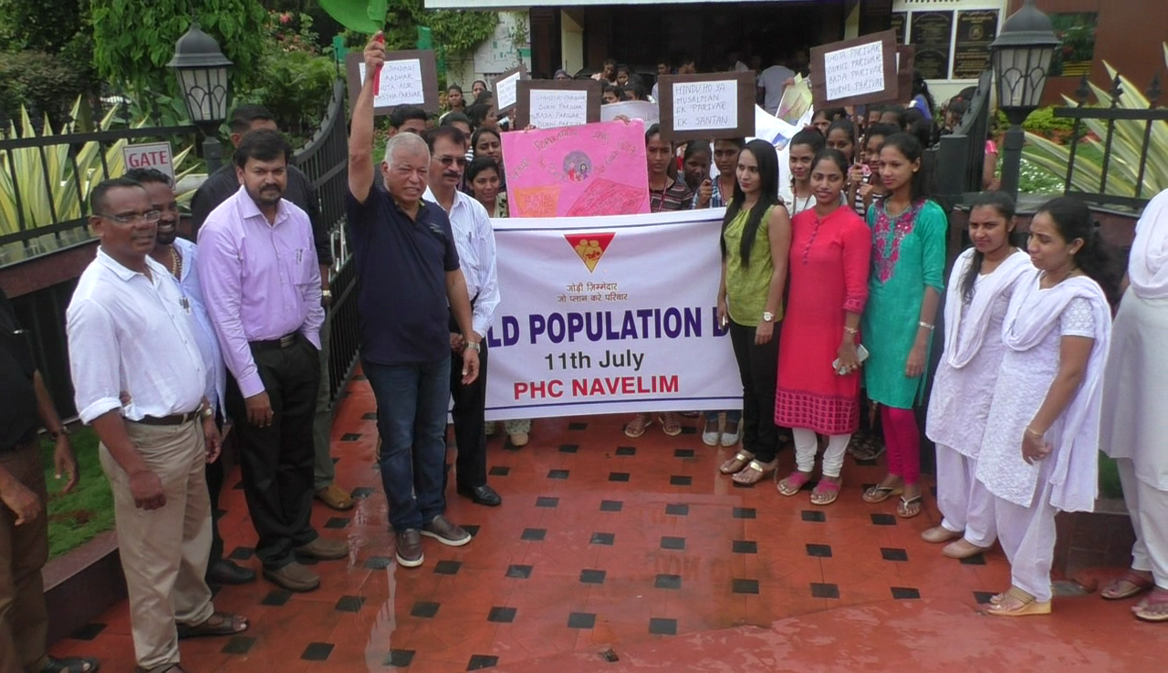 Rally held to create awareness on population