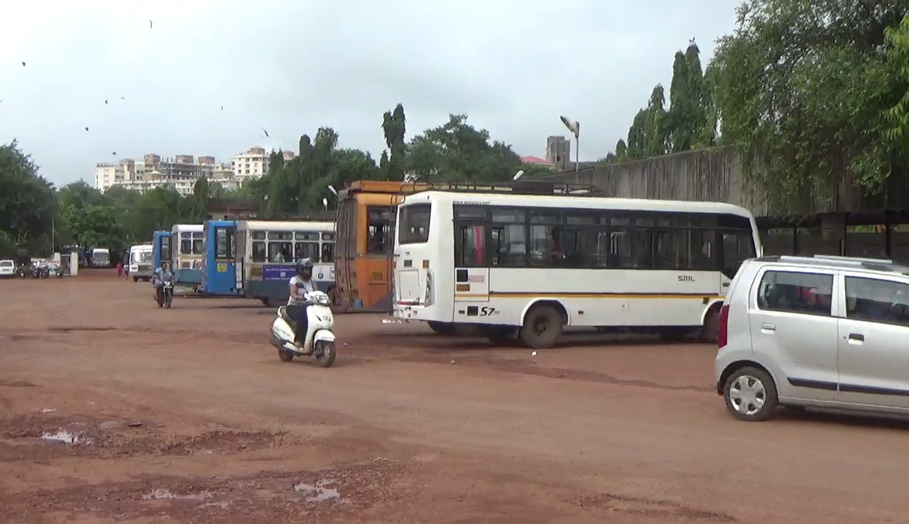 Vascoites upset over pathetic  bus stand