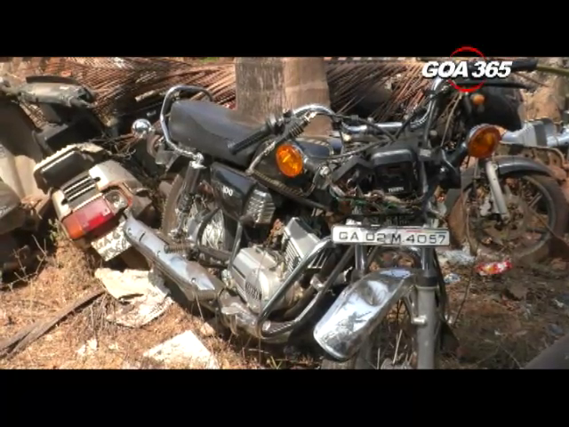 Road mishap at Farmagudi, bike rider dies