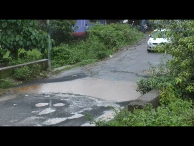 Roads in Keri Sattari In a bad Condition