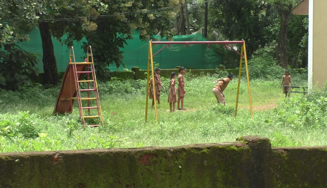 Centre's 'Khelo Bharat' flayed, Rumdamol school playground in pathetic shape