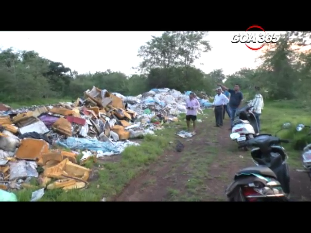 Sal locals stop illegal dumping of waste in village