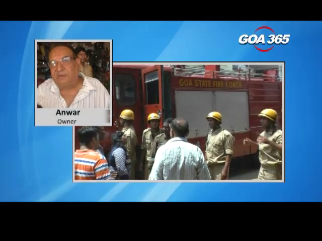 Shop gutted in Ponda, loss worth Rs 80 lakhs