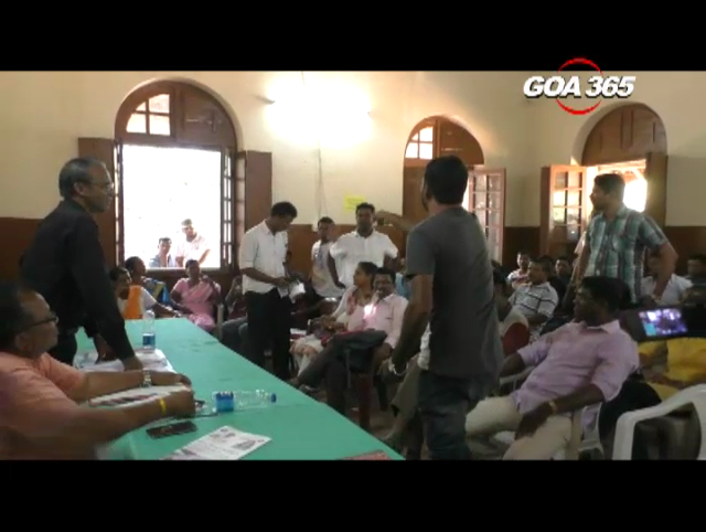 SUNDAY GRAM SABHA: Paroda discuses issues of illegal houses, plots