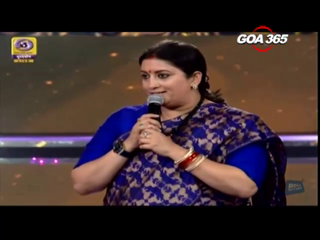 Smriti takes a dig at IFFI opening as 6 juries write to her on film-drops