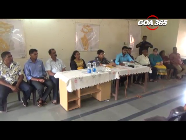 Cansaulim gram sabha turns stormy on hotels in fields