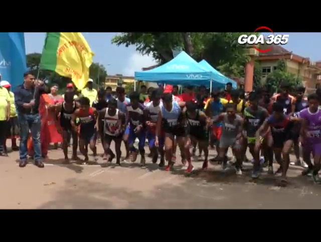 Youth enjoy Mini marathon held in Madgao