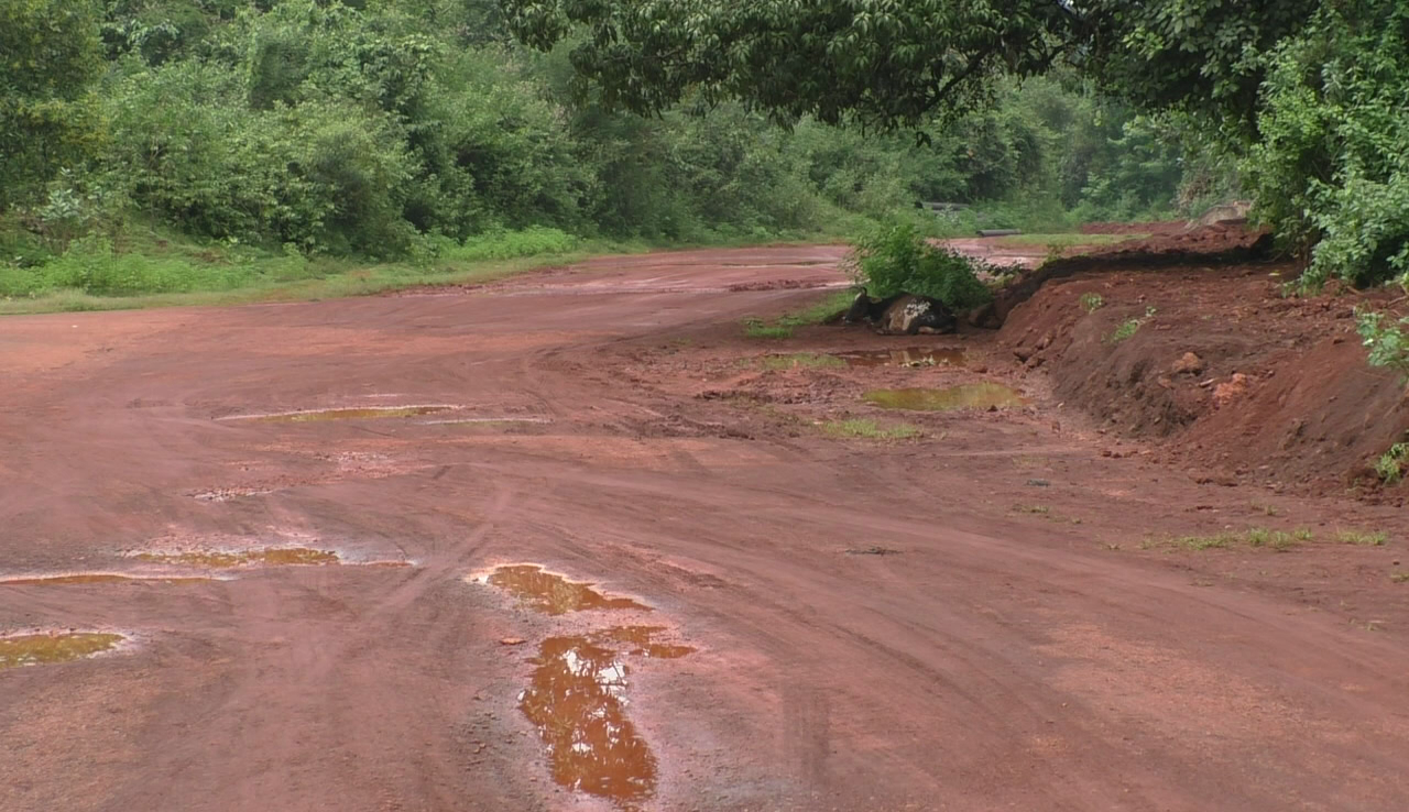 The villagers of Pale have to face a 'bumpy ride' due to bad roads in village