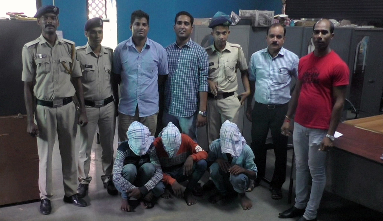 Three involved in burglaries arrested at Madgao