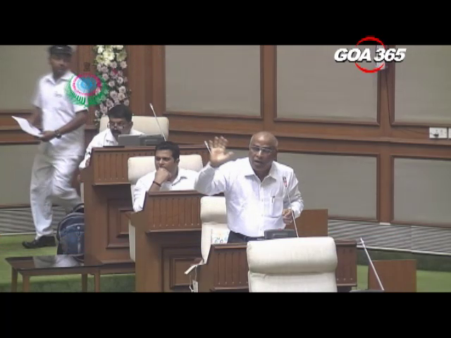 Tourism Minister, Mandrem MLA fight it out in Assembly