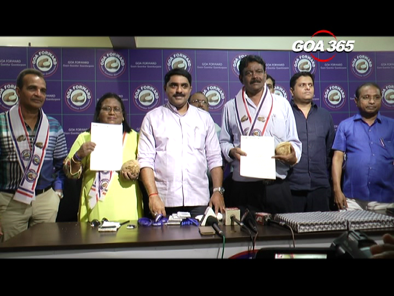 Two ex-MLAs of '90s join Goa Forward
