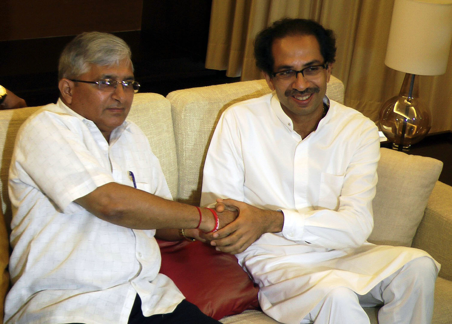 Uddhav-Velingkar agree to fight Assembly poll together
