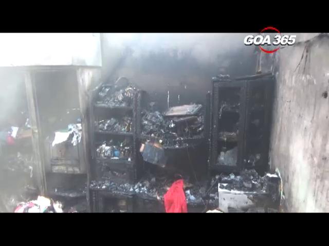 Vasco: 4 houses in gutted in fire