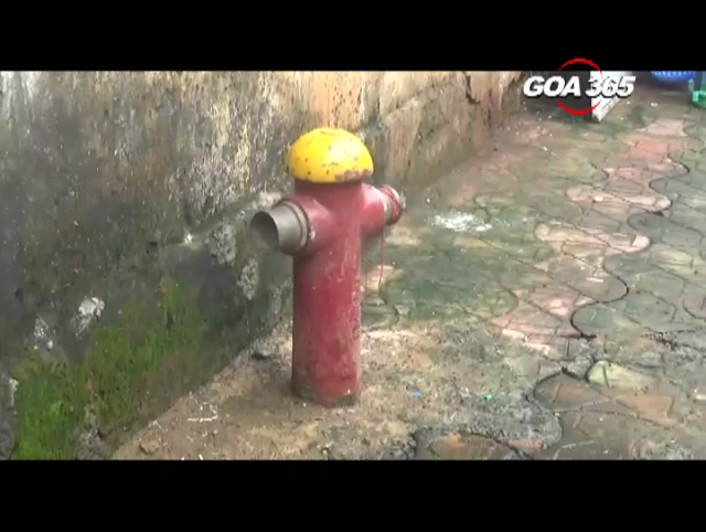 Vasco might soon get the renovated fire hydrant system
